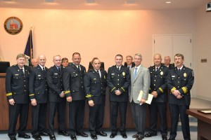 Five promoted at Manassas fire and rescue