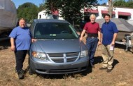 Steve's Auto Repair & Tire donated minivan to NOVA