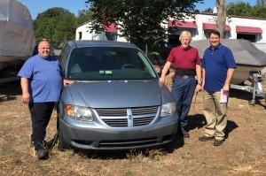 Steve's Auto Repair & Tire donated minivan to NOVA