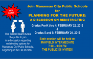 Will your Manassas student be changing schools?