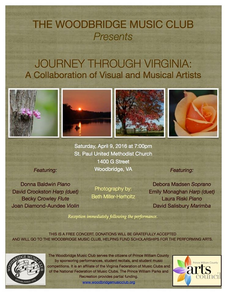 Hear the sweet sounds of Virginia on April 9