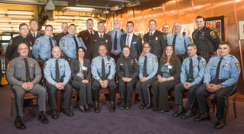 Area police, fire and rescue honored at Valor Awards