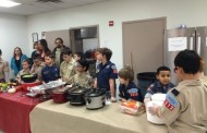 Boy Scouts serve meal to homeless in Woodbridge