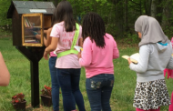 Princess Club dedicates little free library in Dale City