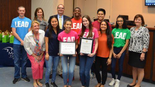 Osbourn HS student council wins national award
