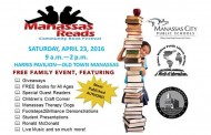 Family-friendly book festival in Manassas, April 23