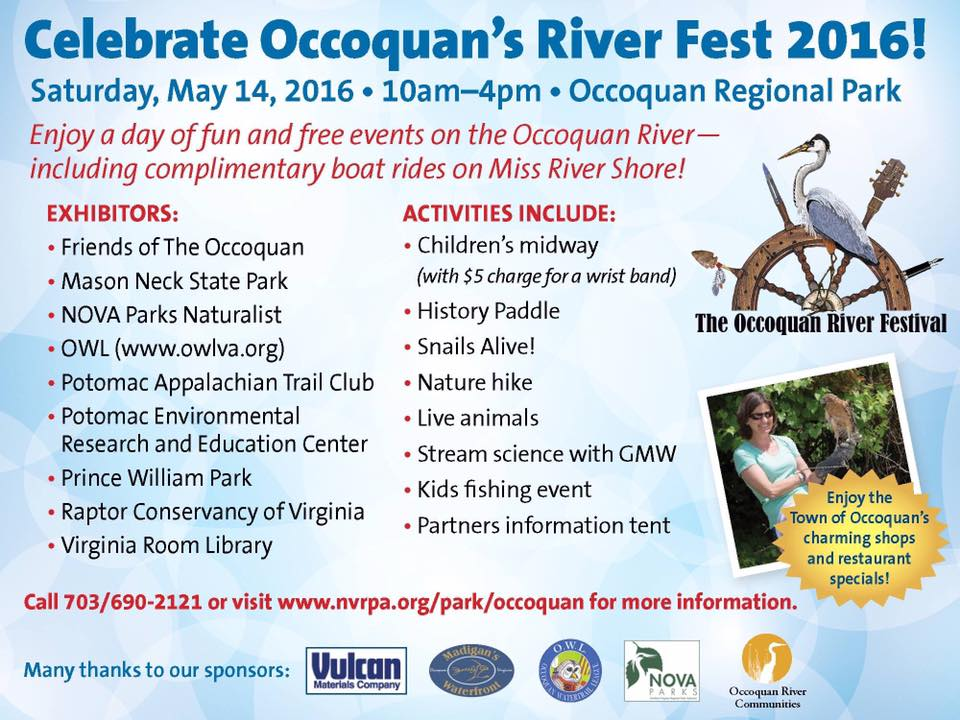 Occoquan River Fest in Lorton this Saturday