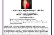 Woodbridge Music Club to host world renowned pianist, May 14