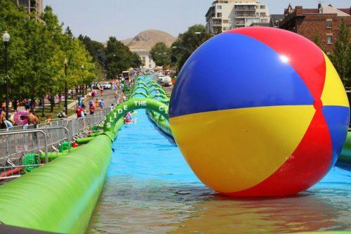 World's longest slip n' slide coming to Tysons, July 16