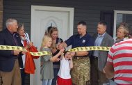 Disabled Iraq veteran receives new home in Nokesville from non-profit