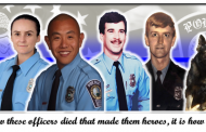 Prince William police honored fallen officers