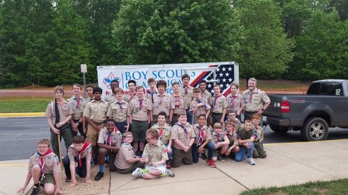 Community helps Boy Scout Troop 43 get new trailer, equipment, after theft