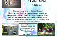 Rippon Lodge hosts Spring Art Fling in Woodbridge, May 21
