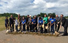 Potomac Shores elementary project begins, following groundbreaking ceremony
