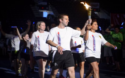Law Enforcement Torch Run for Special Olympics Virginia kicked off in Occoquan
