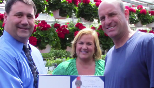 Lake Ridge Nursery owners honored for service to Boys & Girls Clubs