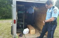 Stolen Boy Scouts trailer found damaged, mostly empty in Dumfries