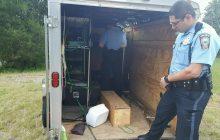 Stolen Boy Scouts trailer found damaged, mostly empty in Dumfries