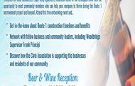 Free beer & wine reception for Woodbridge businesses, June 16