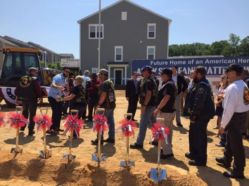 Wounded Army veteran receives free home in Dumfries