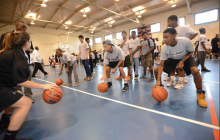 Boys & Girls Club basketball jamboree in Dumfries, July 9