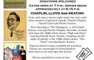 Free Chaplin, Lloyd, and Keaton movie night in Woodbridge, June 25