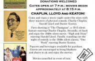 Free Chaplin, Lloyd, and Keaton movie night in Woodbridge, June 25