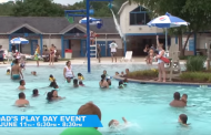 Dad's Play Day at waterpark in Dale City, June 11
