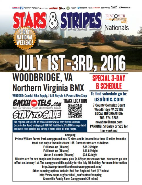usa bmx woodbridge prince william county