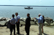 Governor McAuliffe stops by Leesylvania to announce shoreline project, preservation funding