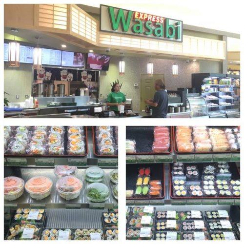 Wasabi Express now open at Manassas Mall food court