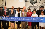'Godwin' no longer: Hampton Middle School officially renamed at ribbon cutting last night