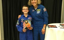 Woodbridge youth attends NASA Space Camp in Alabama