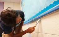 22 women worked together to beautify Woodbridge middle school