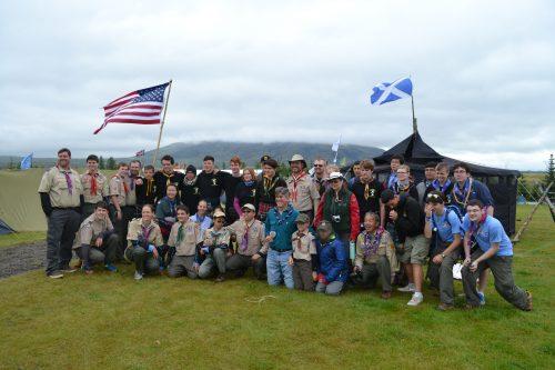 Local Boy Scouts take part in Iceland International Jamboree