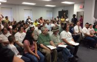 Tough questions arise at meeting to discuss East End Mobile Home Park residents, relocation