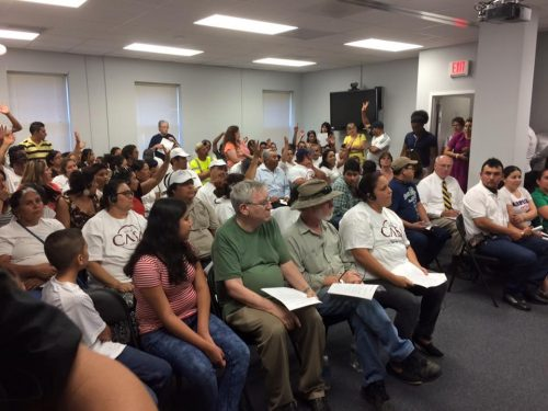 Tough Questions Arise At Meeting To Discuss East End Mobile Home Park Residents Relocation