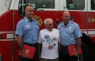 Quantico firefighters commended for saving triathlon participant from drowning