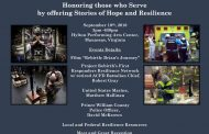 """Hope and resilience"" for first responders event in Manassas, Sept. 10"