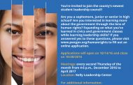 Prince William Human Rights Commission needs applicants for Student Leadership Council