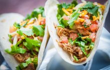 Zandra's offers tacos for canned goods at 'Day of the Dead' celebration