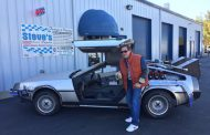 Community Conversations: 'Back to the Future' Time Machine visits in Woodbridge