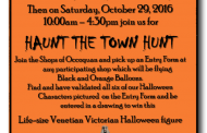 The Halloween haunted hunt is on in Occoquan, Oct. 29
