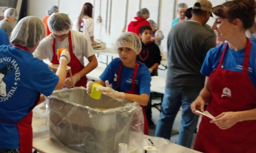 House of Mercy packs 71,928 meals for area's hungry