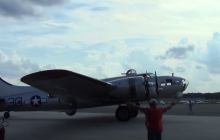 B-17 & Tri-Motor planes fly into Manassas for the weekend