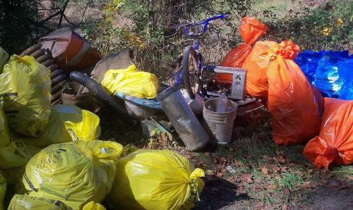76 bags of trash, 23 tires removed during clean up at Neabsco Creek