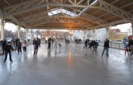 Harris Pavilion ice rink open for the holidays in Manassas