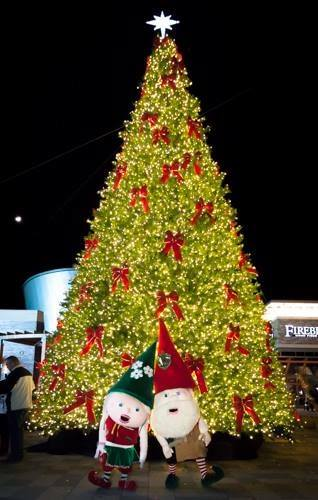Tree lighting at Stonebridge at Potomac Town Center, Nov. 25