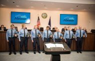 Seven new recruits sworn in to Manassas fire & rescue