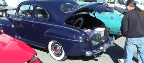 Early Ford car club meets in Woodbridge to talk shop